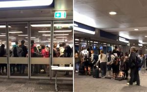 Concerns as crowds seen huddled together at Sydney Airport as NSW cases rise again overnight