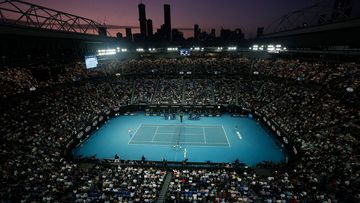 Rod Laver Arena will host the Australian Open from February 8th.