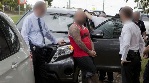 The 32-year-old man was charged with money laundering following a two-year investigation. (Queensland Police)