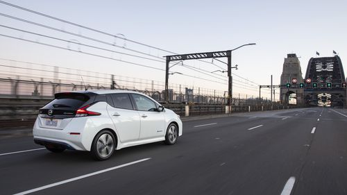 The Nissan Leaf electric vehicle is set to hit the market in May-June 2019.