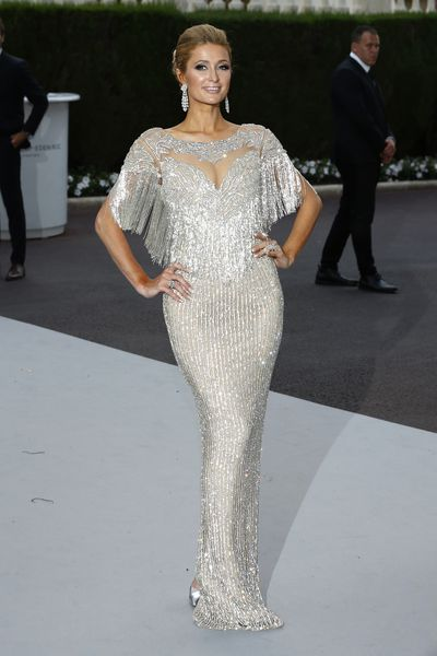 Paris Hilton at the amfAR Gala Cannes 2017 at Hotel du Cap Eden Roc, May 25, 2017