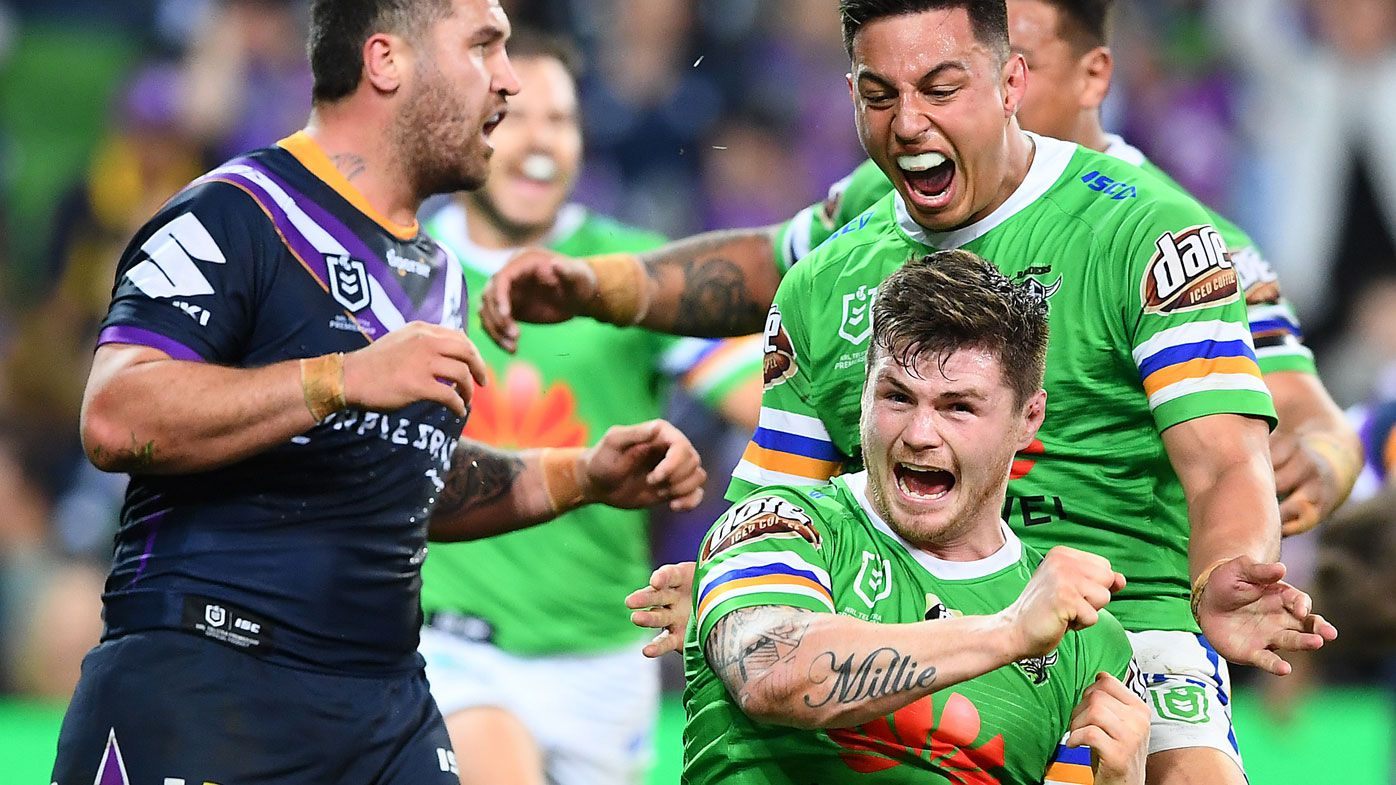 England hardman John Bateman brings winning culture to Canberra Raiders