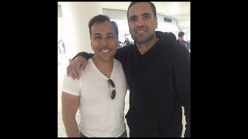 Mr Samadi rubs shoulders with celebrities, including boxing champ Anthony Mundine.
