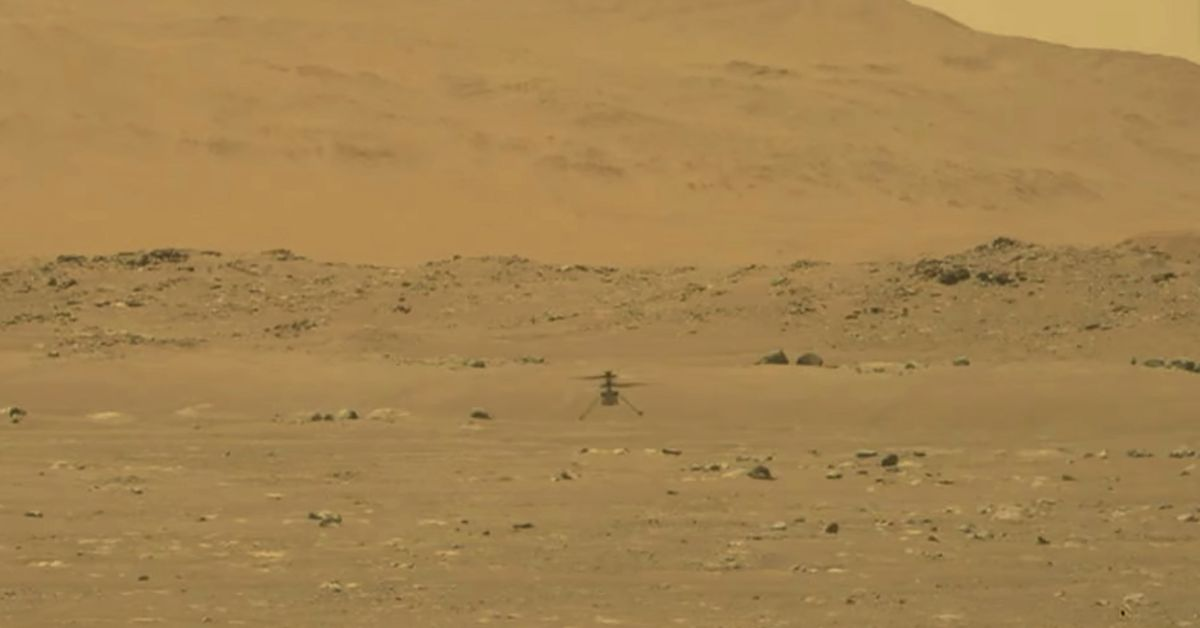 NASA's Mars helicopter Ingenuity takes flight first for another planet – 9News