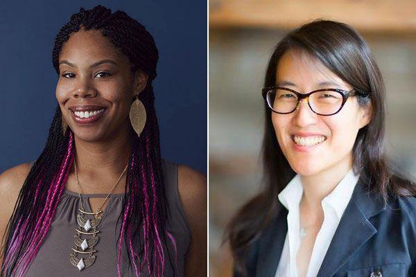 Erica Baker (left) and Ellen Pao (Right) (Twitter)