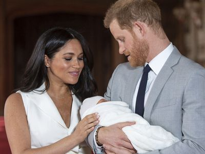 Meghan and Harry welcome son Archie, May 2019
