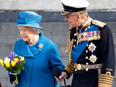 Prince Philip and Queen Elizabeth in their later years