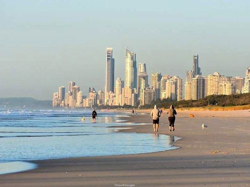 Showers are expected on the Gold Coast for the rest of the week. (Fiona Robinsen)
