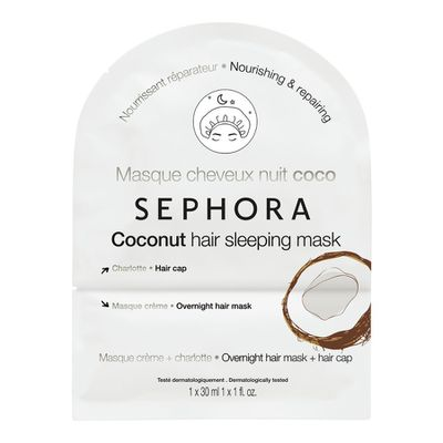 """<a href=""""https://www.sephora.com.au/products/sephora-collection-hair-sleeping-mask/v/coconut"""" target=""""_blank"""">Sephora Collection Hair Sleeping Mask 30ml, $7</a>"""