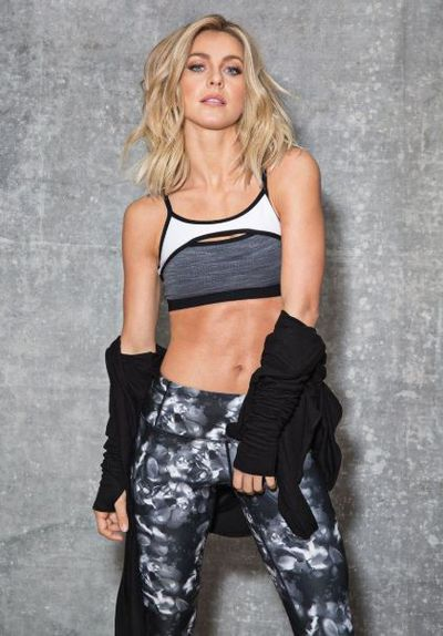 "Actress and dancer Jules Hough has a sportswear collaboration with <a href=""https://mpgsport.com/collections/julianne-hough-collection"" target=""_blank"" title=""MPG Sport "" draggable=""false"">MPG Sport </a>"