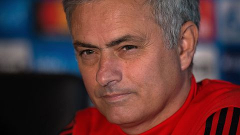 Manchester United boss Jose Mourinho.