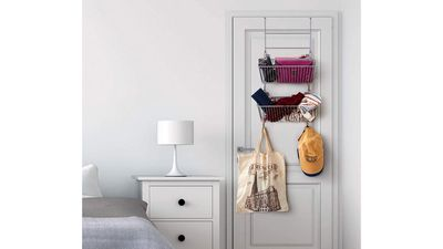 EZOWare Over The Door and Wall Mount Storage Organiser