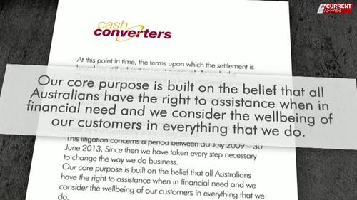 Cash Converters statement