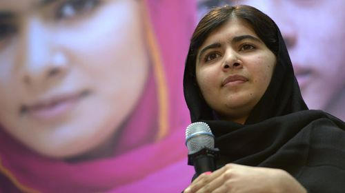 Pakistani teenager Malala Yousafzai. (AAP)