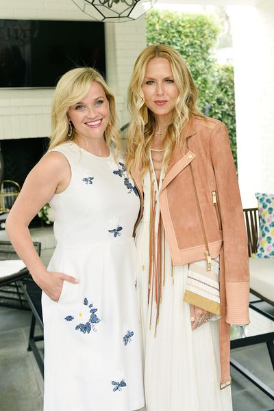 Reese Witherspoon with stylist Rachel Zoe.
