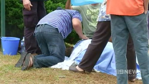 Locals rushed to the aid of the injured. (9NEWS)