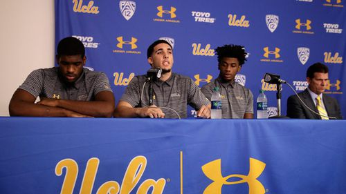 UCLA basketball players thank Trump for freedom after allegedly shoplifting in China