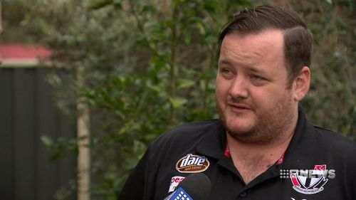 Joshua Holwell, who witnessed the fight, described it as disgraceful. (9NEWS)