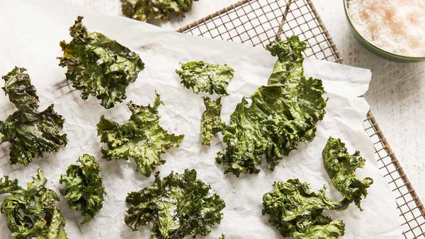 Janelle Purcell's kale chips