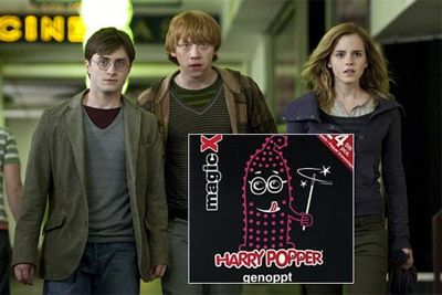 The makers of 'Harry Popper' condoms in Switzerland had to rethink their marketing strategy after they were slapped with a lawsuit by Warner Brothers.