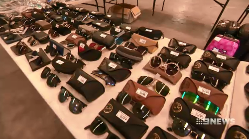 While sunglasses and smaller items are understandably some of the items left behind at the airport, some bigger, weirder items are also available in the auction.