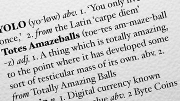 Britain's Chambers Dictionary has added more than 1000 words to its latest edition.