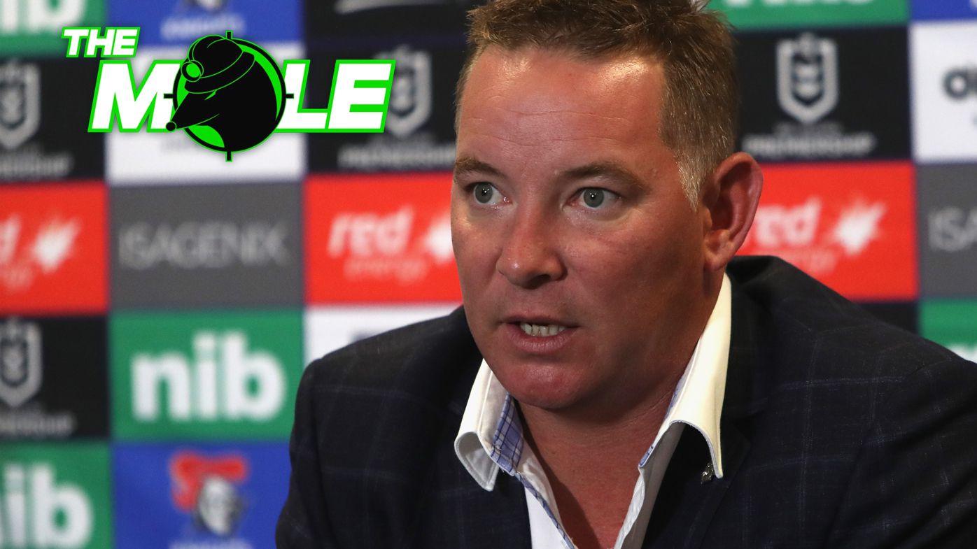 Newcastle coach Adam O'Brien.