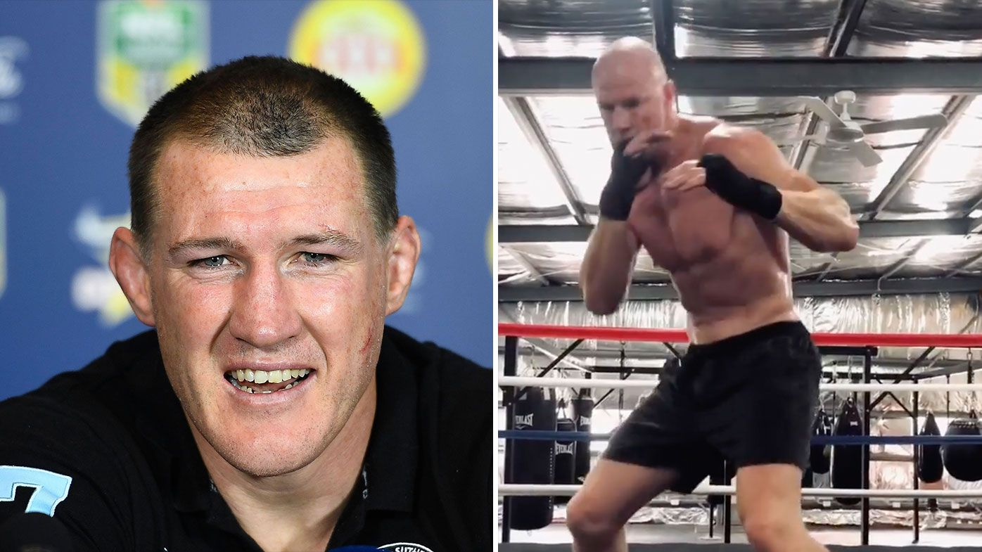 'No-one's there': Paul Gallen continues social media assault on Barry Hall before bout