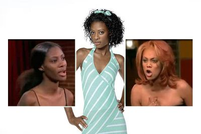 """Tiffany will forever be known by the entire Internet as the woman who made <i>Top Model</i> host Tyra Banks yell: """"WHEN YOU GO TO BED AT NIGHT, YOU LAY THERE AND YOU TAKE RESPONSIBILITY FOR YO'SELF... YOU ROLLIN' YOUR EYES AND YOU ACTING LIKE THIS BECAUSE YOU'VE HEARD IT ALL BEFORE... YOU DON'T KNOW WHERE THE HELL I COME FROM, YOU HAVE NO IDEA WHAT I'VE BEEN THROUGH. BUT I'M NOT A VICTIM, I GROW FROM IT, AND I LEARN. TAKE RESPONSIBLITY FOR YO'SELF!"""""""