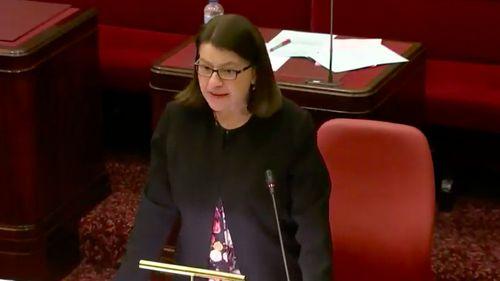 Health Minister Jenny Mikakos
