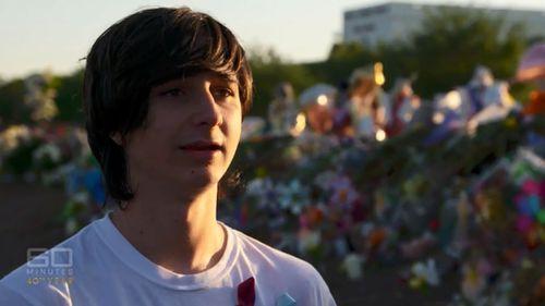 Marjory Stoneman Douglas shooting survivor Liam Kiernan lost his best friend in the shootung. (60 Minutes)