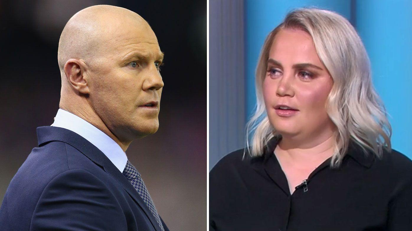 Former Australian tennis star Jelena Dokic slams former AFL star Barry Hall's comments as horrific