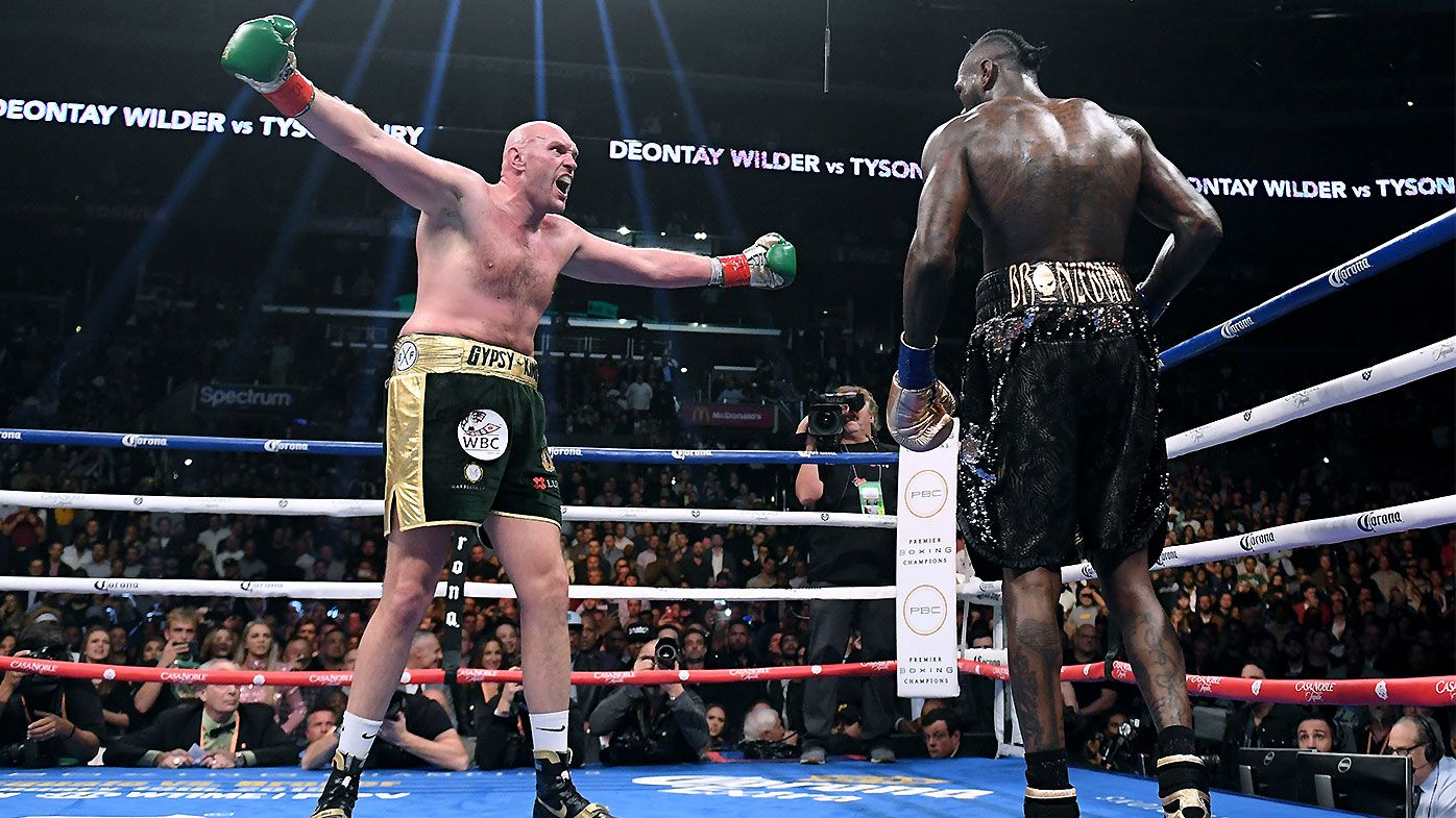 Tyson Fury calls out Anthony Joshua after split draw with Deontay Wilder