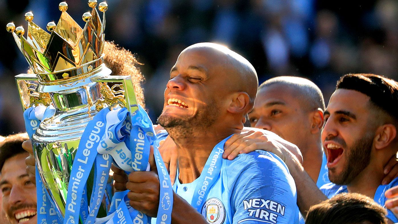 Ruthless Manchester City pip Liverpool to Premier League title on final day
