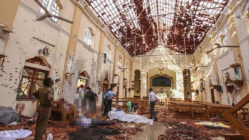 190422 Sri Lanka bombings church blasts death toll news World