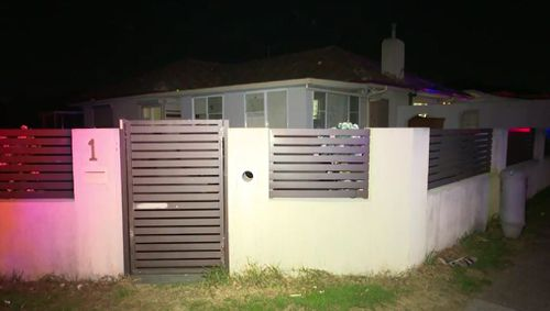 Police were called to the Fairfield Heighs home last night after the attack. Picture: 9NEWS