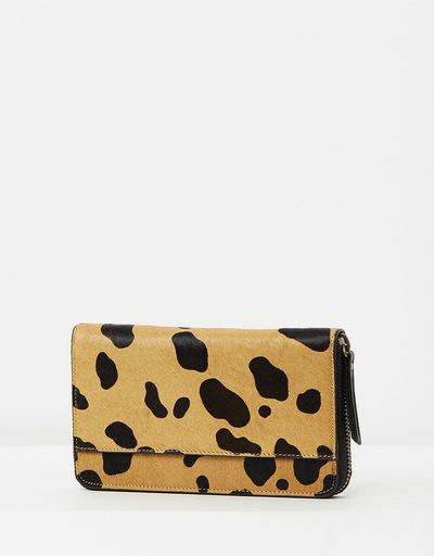 "Status Anxiety Delilah wallet, $119.95 at <a href=""http://www.theiconic.com.au/delilah-wallet-430039.html"" target=""_blank"">The Iconic</a>"