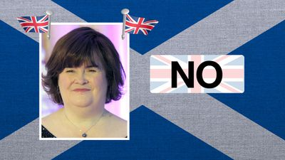 """Susan Boyle, singer: """"I strongly believe Scotland should stay in the UK."""""""