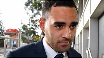 Penrith NRL player Tyrone May has returned to court today to face charges of recording and distributing sexual acts without consent.