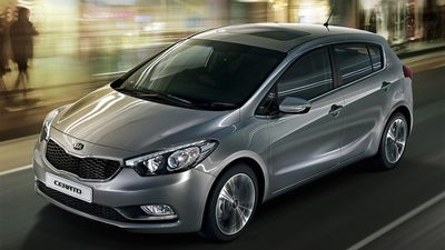 The Kia Cerato S was rated the best value small car under $25,000, with the Mazda 3 Neo coming second, and the Skoda Rapid Spaceback Ambition coming third. (Supplied)