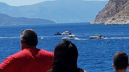 Three killed in Greek tourist boat crash