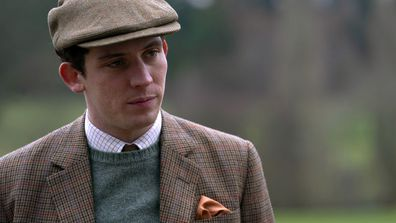 Josh O'Connor portrays Prince Charles and Erin Doherty portrays Princess Anne in The Crown Season 3 4