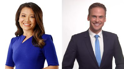 Tracy Vo will join Today as newsreader and Tim Davies as weather presenter.