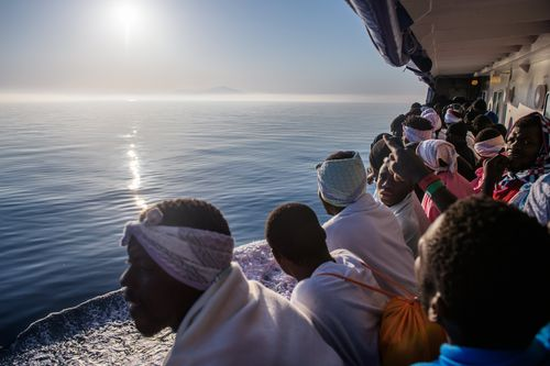 The Aquarius regularly attempts to get migrants into Europe but Italy and Malta are standing strong on the matter. Image: AAP