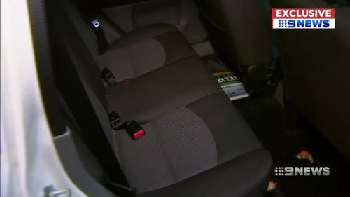 Richard's aunt mistook Mr Griffith's car for her own. Picture: 9NEWS
