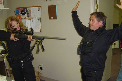 """<b>The awe-inspiring premise: </b>""""Celebrities"""" train to be police officers in Indiana. Memorable moments included LaToya Jackson and Jack Osbourne handcuffing and interrogating a woman for thirty minutes before realising they're in the wrong house (lawsuit!) and LaToya Jackson getting tasered."""