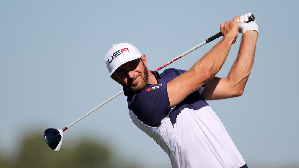 Dustin Johnson.(AAP)