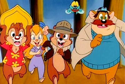 <B>Ran from:</B> 1989 to 1990<br/><br/><br/><B>Why it's awesome:</B> Following the success of Ducktales, Disney set out to produce another action series starring two more of its classic characters: Chip and Dale. Two chipmunks on a mission to fight crime = adorable!