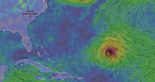 Hurricane Florence is making its way to America's East Coast.