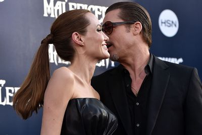 Anytime is a good time for red carpet PDA if you're Brangelina!